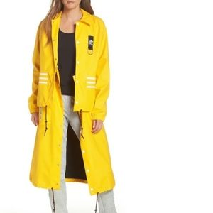 Adidas X Olivia Oblanc Convertible Trench Coat